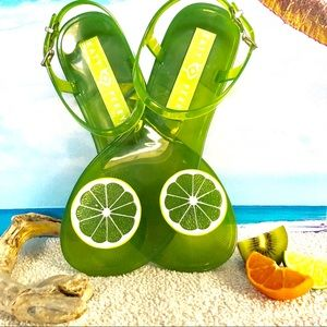Katy Perry Lime Geli Sandals